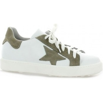 Chaussures Femme Baskets basses Life Baskets cuir Blanc