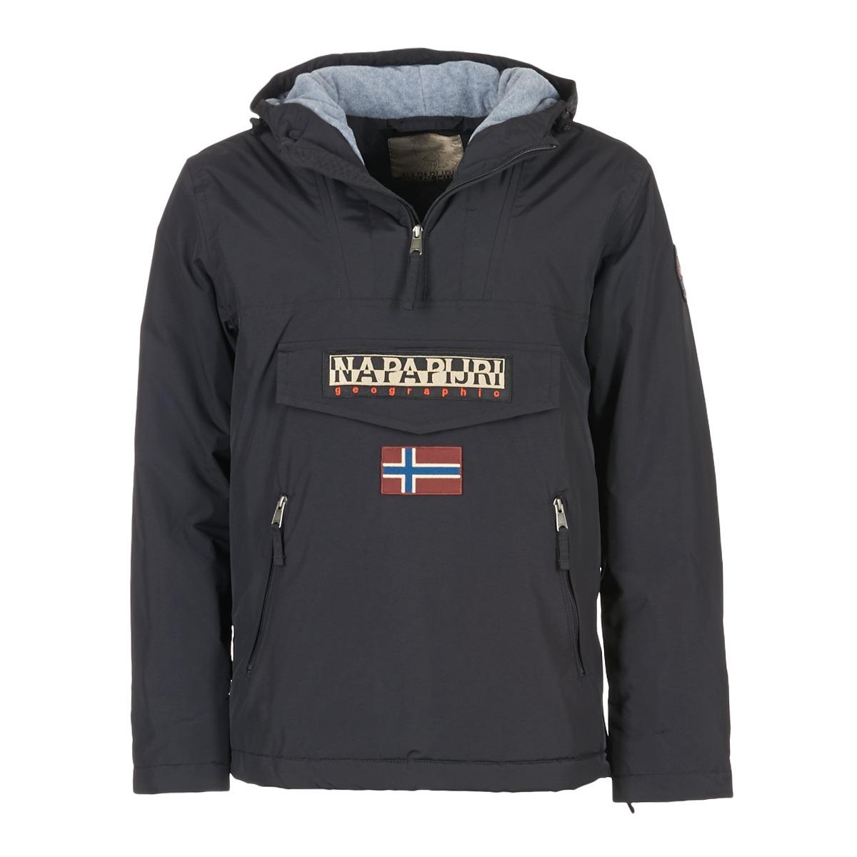 147435f2321 Napapijri RAINFOREST POCKET Noir - Livraison Gratuite avec Spartoo.com ! -  Vêtements Parkas Homme 215