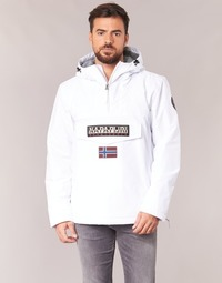 Vêtements Homme Parkas Napapijri RAINFOREST Blanc