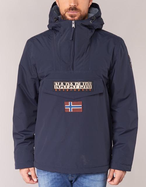 Napapijri Rainforest Winter Marine - Livraison Gratuite- Vêtements Parkas Homme 15920 5sqCs