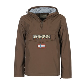 Vêtements Homme Parkas Napapijri RAINFOREST Marron