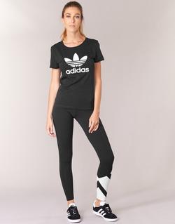 Vêtements Femme Leggings adidas Originals EQT LEGGINGS Noir / Blanc