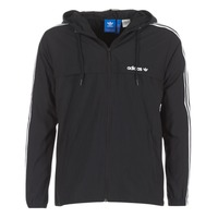 Vêtements Homme Coupes vent adidas Originals 3 STRIPED WB Noir