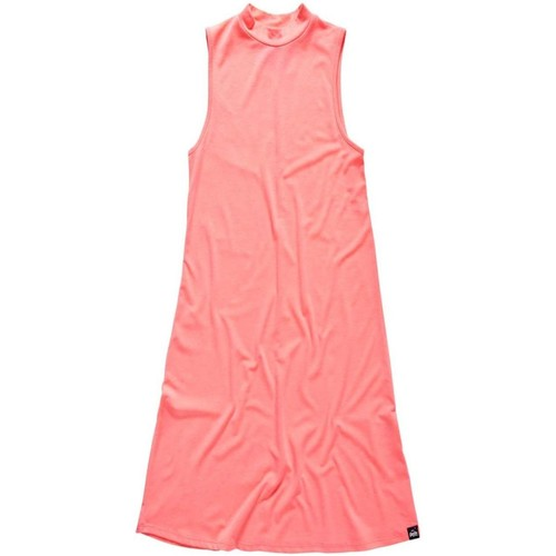 Vêtements Femme Robes courtes Superdry Vestido  Essential Shift Coral Rouge