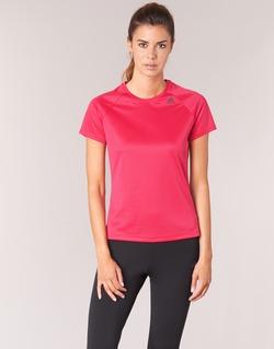 Vêtements Femme T-shirts manches courtes adidas Performance D2M TEE LOSE Rose