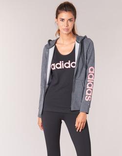 Vêtements Femme Sweats adidas Performance ESS LIN FZ HD Gris