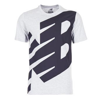 Vêtements Homme T-shirts manches courtes New Balance NB ESSENTIEL T Gris