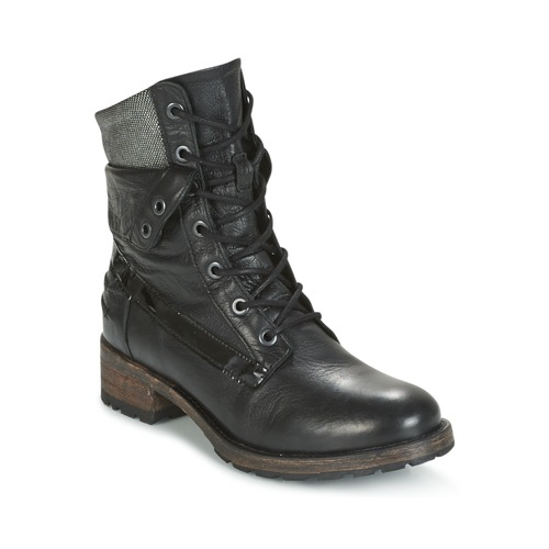 Pataugas DEDAY Noir - Livraison Gratuite avec  - Chaussures Boot Femme