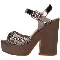 Chaussures Femme Sandales et Nu-pieds Silvana 717 Sandale Femme Gunmetal Gunmetal