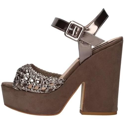 Chaussures Femme Sandales et Nu-pieds Silvana 717 Gunmetal
