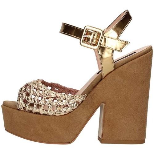 Chaussures Femme Sandales et Nu-pieds Silvana 717 Sandale Femme bronze bronze