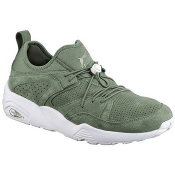 Chaussures Garçon Baskets basses Puma Baskets  Blaze Of Glory Soft Agave Vert Trinomic Vert