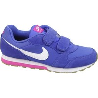 Chaussures Enfant Baskets basses Nike MD Runner 2 Psv Rose-Violet-Blanc