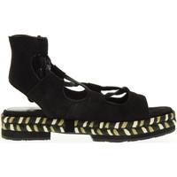 Chaussures Femme Espadrilles Apepazza  Nero