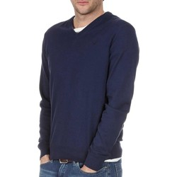 Vêtements Homme Pulls Hackett PIMA COTTON V NECK Bleu