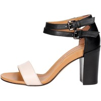 Chaussures Femme Sandales et Nu-pieds Peperosa R202/1 Open Toe Chaussures Femme Noir/Beige Noir/Beige