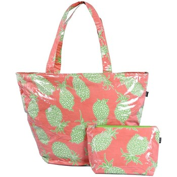 Sacs Femme Cabas   Sacs shopping Baisers Salés Sac plage et pochette  maillot Ananas rose ecd56b9a1336