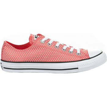 Chaussures Femme Baskets basses Converse Baskets fille -  - Rouge - 555855C - Millim ROUGE