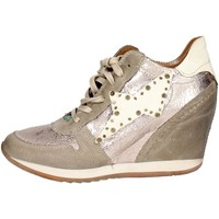 Airstep / A.S.98 186203 Haute Sneakers Femme Platine Platine - Chaussures Baskets basses Femme
