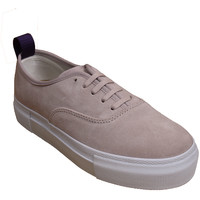 Chaussures Femme Chaussures de Skate Eytys Mother Suede Powder Pink Pink