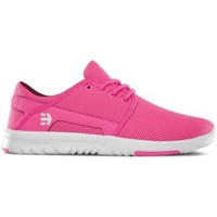 Chaussures Femme Baskets basses Etnies Chaussures  Scout Wos - Pink White Pink Rose