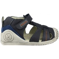 Chaussures Enfant Sandales et Nu-pieds Biomecanics SANDALIA CERRADA PIEL BLUE