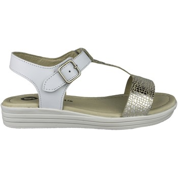 Chaussures Fille Sandales et Nu-pieds Garvalin SANDALIAS PIEL NIÑA BLANC