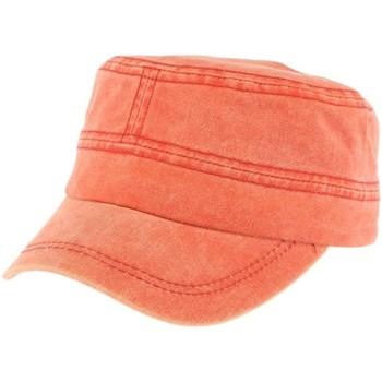 Accessoires textile Casquettes Léon Montane Casquette militaire Corail Gibbs Orange