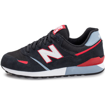 Chaussures Homme Baskets basses New Balance U446 Krg Noir/Rouge