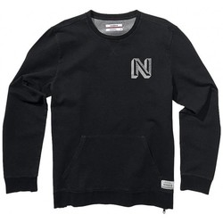 Vêtements Homme Sweats Nixon Sweat Baja Malibu Crew - Black Denim Heather Noir