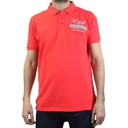 Vêtements Homme Polos manches courtes Kebello Polo RMS 9948 rouge