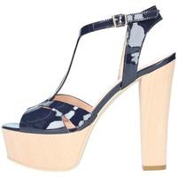 Chaussures Femme Sandales et Nu-pieds Emporio Di Parma 818 Sandale Femme bleu bleu