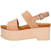 Chaussures Femme Sandales et Nu-pieds Emporio Di Parma 830 Sandale Femme cuir cuir