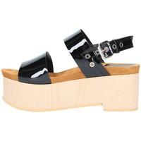 Chaussures Femme Sandales et Nu-pieds Emporio Di Parma 830 Sandale Femme noir noir