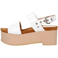Chaussures Femme Sandales et Nu-pieds Emporio Di Parma 830 Sandale Femme blanc blanc