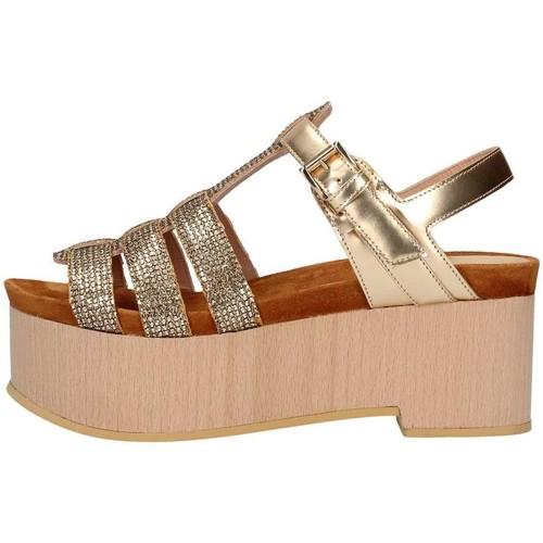 Chaussures Femme Sandales et Nu-pieds Emporio Di Parma 836 Doré
