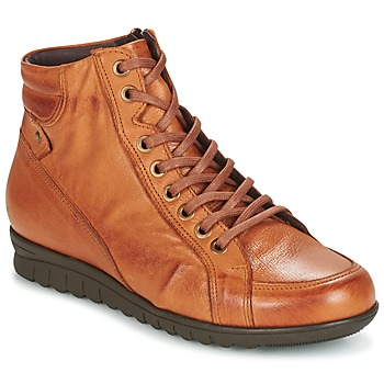 Chaussures Femme Baskets montantes Pitillos 2631 Cognac