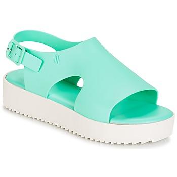 Chaussures Femme Sandales et Nu-pieds Melissa HOTNESS Vert / blanc