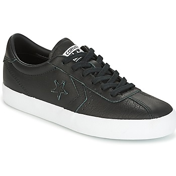 Chaussures Femme Baskets basses Converse BREAKPOINT FOUNDATIONAL LEATHER OX Noir / Blanc
