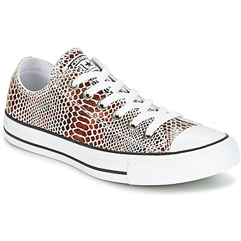 Chaussures Femme Baskets basses Converse CHUCK TAYLOR ALL STAR FASHION SNAKE OX Noir / Blanc