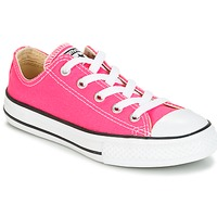 Chaussures Fille Baskets basses Converse CHUCK TAYLOR ALL STAR SEASONAL OX PINK POW Rose