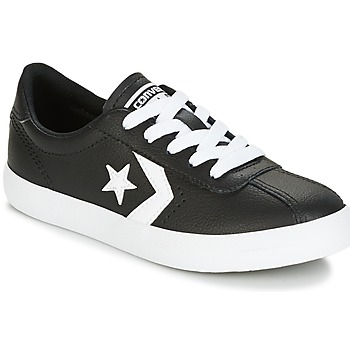 Chaussures Enfant Baskets basses Converse BREAKPOINT FOUNDATIONAL LEATHER BP OX BLACK/WHITE/BLACK Noir / Blanc