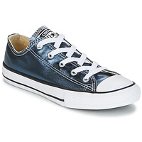 Chaussures Fille Baskets basses Converse CHUCK TAYLOR ALL STAR Bleu / Blanc / Noir