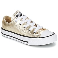 Chaussures Fille Baskets basses Converse CHUCK TAYLOR ALL STAR Doré / Blanc / Noir