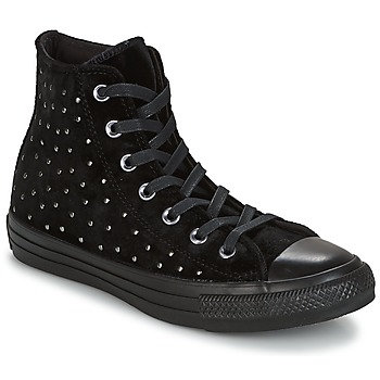 Chaussures Femme Baskets montantes Converse CHUCK TAYLOR ALL STAR HI musta
