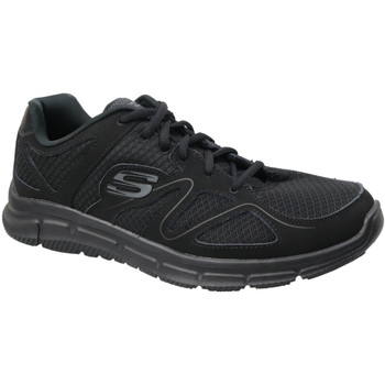 Chaussures Homme Baskets basses Skechers Satisfaction 58350-BBK Black