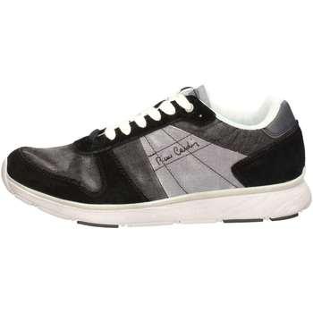 Chaussures Homme Baskets basses Pierre Cardin PC404 U Sneakers Homme Noir Noir