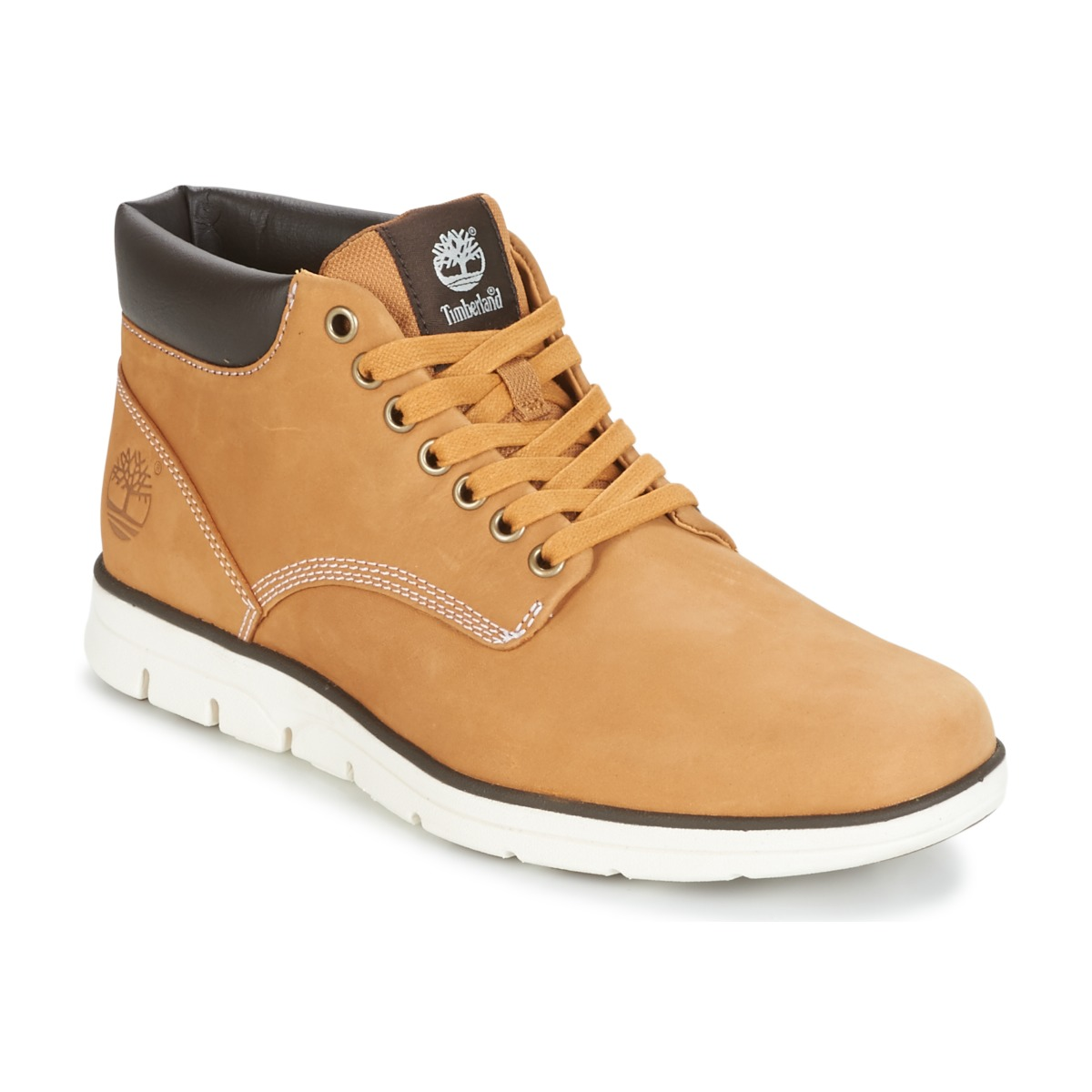 Chaussures Homme Baskets montantes Timberland BRADSTREET CHUKKA LEATHER  Marron 4869bf549a2e