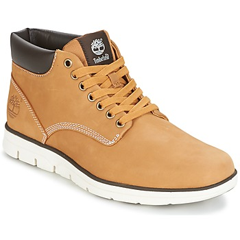 Chaussures Homme Baskets montantes Timberland BRADSTREET CHUKKA LEATHER  Marron 70724fcb5ea