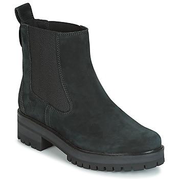 Chaussures Femme Boots Timberland COURMAYER VALLEY CHELSEA Noir